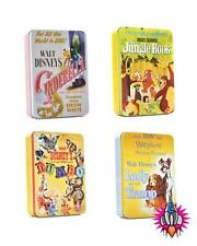 CLASSIC DISNEY FILM POSTER LUNCH TIN TOTE BOX DUMBO JUNGLE BOOK CINDERELLA LADY