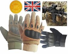Tactical Military Motorcycle Outdoor Airsoft Shooting Hunting Full Finger Gloves