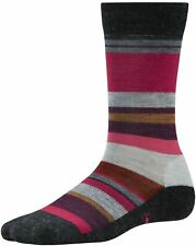 Smartwool Women's Saturnsphere Lifestyle Socks Charcoal Heather Outdoor Sports