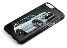 RetroArtz Cartoon Car Ford Focus MK2 ST Silver BK Alloys iPhone 6/6+ Case/Cover