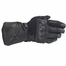 Alpinestars Apex Drystar Waterproof Motorcycle / Bike Gloves In Black