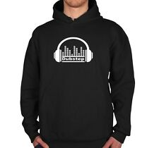 Dubstep Hoodie equalizer headphone Music Dubstep shirt  Kapuzenpullover