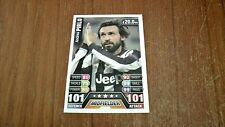 PIRLO 101 100 Hundred Club - Topps Match Attax *UNIQUE* 2013-14 JUVENTUS MINT