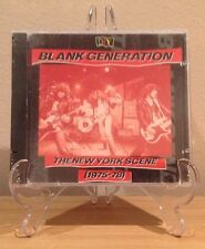 Blank Generation - The New York Scene (1975-78) Punk New Wave Blondie Ramones