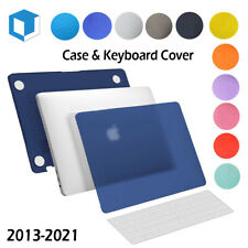 """Rubberized Hard Cover Case for Macbook Pro13/15"""" Retina Air 11/13""""+Keyboard Skin"""
