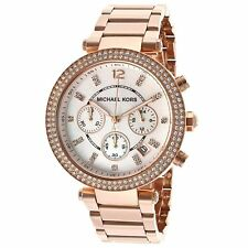 OROLOGIO DONNA MICHAEL KORS  MK5491 Cronografo Rose Gold Watch ROSE GOLD STRASS