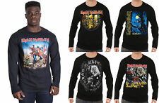 Iron Maiden T Shirt Trooper Number Of The Beast Eddie new Official Long sleeve