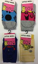 Ladies Little Miss Ankle socks. Size 4-8 Sunshine, Chatterbox, Bossy, Giggles