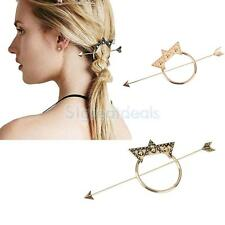 Vintage BOHO Star Arrow Dot Triangle Updo Hoop Hair Stick Hair Pin Hairpin Clip