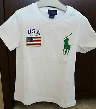 BNWT Polo Ralph Lauren Boys/Children Short Sleeve Big Pony Tee/T-Shirt