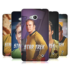 UFFICIALE STAR TREK CAPITANO KIRK COVER MORBIDA IN GEL PER MICROSOFT TELEFONI