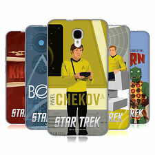 UFFICIALE STAR TREK PERSONAGGI IONICI TOS CASE IN GEL PER ALCATEL TELEFONI