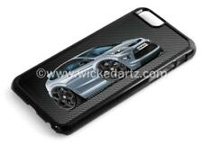 RetroArtz Cartoon Car Ford Focus MK2 ST Grey (BK Alloys) iPhone 6/6+ Case/Cover
