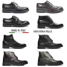 Scarpe uomo made in italy vera pelle casual italian shoes francesine