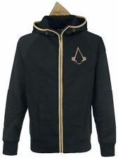 Assassins Creed Syndicate Bronze Brotherhood Crest Hoodie Black and Bronze
