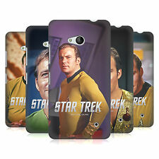 UFFICIALE STAR TREK EMBOSSED CAPITANO KIRK COVER RETRO PER MICROSOFT TELEFONI