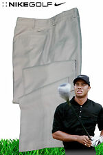 NIKE Mens GOLF TROUSERS Pants Tour Performance DriFit Stay Cool Light Beige