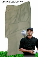 NIKE Mens GOLF TROUSERS Pants Tour Performance DriFit Stay Cool Dark Beige
