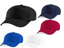 Plain 5 Panel Premium Polyester Unisex Baseball Cap Hat Summer Wholesale