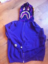 Bape BAPE Hoodie Bathing Ape. Size XL. Purple With Print. RARE Original Bape