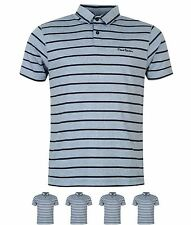 SALDI Pierre Cardin Yarn Dye Stripe Polo Uomo Blue/Navy