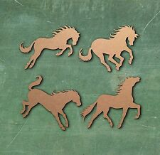 HORSE LARGE LASER CUT MDF WOODEN SHAPE Craft Arts Decoration Small - Large