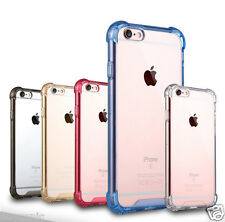 Shockproof Air Cushion Bumper Transparent Back Case Cover For iPhone SE 5s 5