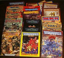 Warhammer WHFB WFB 40K 40000 WH40K Rules Rulebook Supplement Book   select