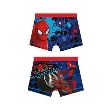 CHILDREN'S BOYS SPIDERMAN/MARVEL BOXER SHORTS/UNDERWEAR 4-10 YEARS