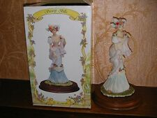 Vintage Leonardo Collection Figurine 1993 - Society Belle
