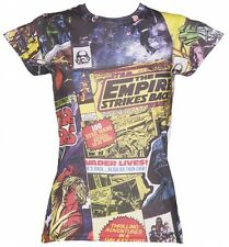 Official Women's Star Wars Comic Print Sublimation T-Shirt