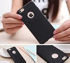 Luxury Grid Pattern Soft Silicone TPU Back Case Cover For Apple iPhone 5 6 6Plus