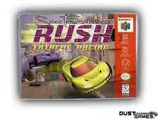 San Francisco Rush Extreme Racing Nintendo 64 N64 Game Case Box Professional Qua