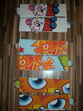 Moshi Monsters design Curtain Tie Backs - B.N - Moshlings, Monsters & Katsuma