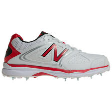 *NEW* NEW BALANCE CK4030 CRICKET SHOES / BOOTS / SPIKES, White/Red