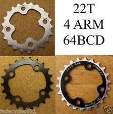 Inner 22T Chainring 64mm BCD 4 Bolt Shimano RaceFace One23 Heat Treated