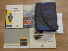 Renault Clio Owners Handbook/Manual and Pack 98-00