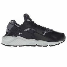 Nike Women's Air Huarache Run Print Running Sports Gym Black Trainers