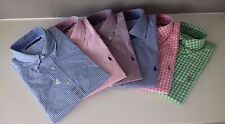 RALPH LAUREN MEN BOY SHIRT CHECK MINI GINGHAM CUSTOM FIT S M L XL