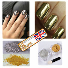 Mirror Chrome Effect Nail Powder Pigment Holo New Nails Trend Holographic