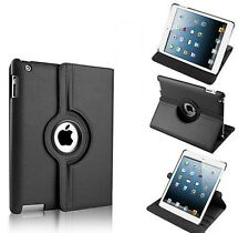 PU Leather 360° Rotate Smart Swivel Book Stand Case Cover For Apple IPAD 2/ 3/ 4