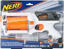 Nerf N-Strike Maverick REV-6 - White Edition
