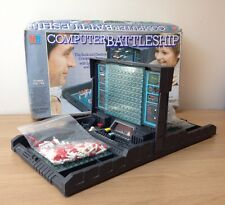 Incomplete Vintage Electronic Computer Battleship Game MB games