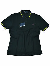 Fred Perry Polo - Shirt M3600 D40 Slim Fit Schwarz #5771