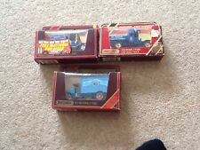 MATCHBOX MODELS OF YESTERYEAR   3 x ASSORTED VEHICLES Boxed
