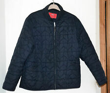 M & S Per Una Black Lightly Padded Quilted Jacket Size M