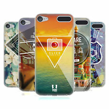 HEAD CASE DESIGNS TRAVELLER THOUGHTS SOFT GEL CASE FOR APPLE iPOD TOUCH MP3