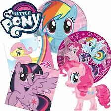 My Little Pony Birthday Party Tableware Supplies Girls Pink Plates Cups Napkins