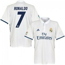*2016 / 2017 - ADIDAS ; REAL MADRID HOME SHIRT SS / RONALDO 7 = KIDS SIZE*