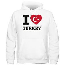 I Love Turkey Kinder Kapuzenpulli